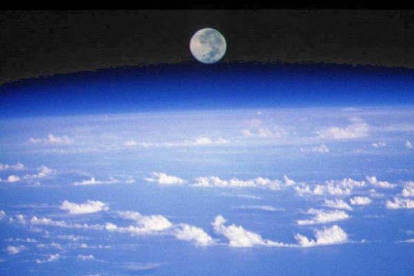 до луны от земли: